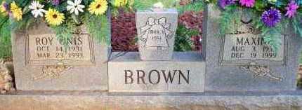 BROWN, ROY ONIS - Scott County, Arkansas | ROY ONIS BROWN - Arkansas Gravestone Photos