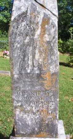 BROWNING, BESSIE D - Scott County, Arkansas | BESSIE D BROWNING - Arkansas Gravestone Photos