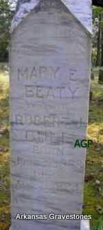 BEATY BULL, MARY ELIZABETH - Scott County, Arkansas | MARY ELIZABETH BEATY BULL - Arkansas Gravestone Photos