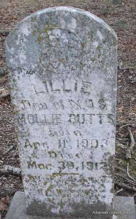 BUTTS, LILLIE - Scott County, Arkansas | LILLIE BUTTS - Arkansas Gravestone Photos