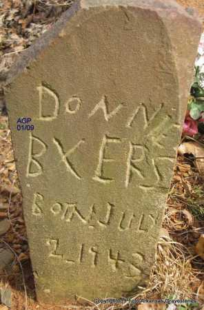 BYERS, DONNIE - Scott County, Arkansas | DONNIE BYERS - Arkansas Gravestone Photos