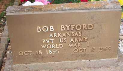 BYFORD  (VETERAN WWI), BOB - Scott County, Arkansas | BOB BYFORD  (VETERAN WWI) - Arkansas Gravestone Photos