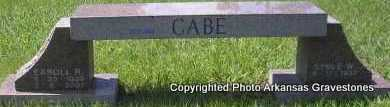 CABE, EAROLL - Scott County, Arkansas   EAROLL CABE - Arkansas Gravestone Photos