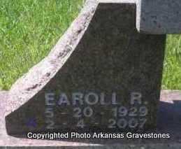 CABE, EAROLL R  (CLOSEUP) - Scott County, Arkansas   EAROLL R  (CLOSEUP) CABE - Arkansas Gravestone Photos