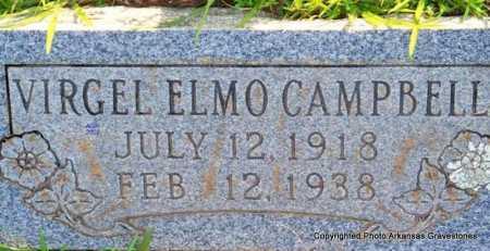 CAMPBELL, VIRGEL ELMO - Scott County, Arkansas | VIRGEL ELMO CAMPBELL - Arkansas Gravestone Photos