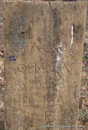 CARR, DORA - Scott County, Arkansas | DORA CARR - Arkansas Gravestone Photos