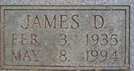 CARROLL, JAMES DAVID  ( CLOSEUP) - Scott County, Arkansas   JAMES DAVID  ( CLOSEUP) CARROLL - Arkansas Gravestone Photos