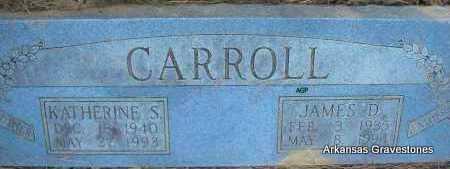 CARROLL, JAMES DAVID (JIM) - Scott County, Arkansas | JAMES DAVID (JIM) CARROLL - Arkansas Gravestone Photos