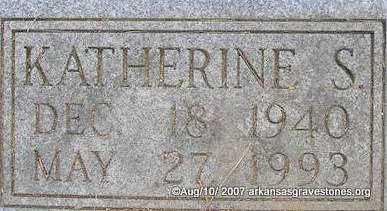 CARROLL, KATHERINE SUE  (CLOSEUP) - Scott County, Arkansas | KATHERINE SUE  (CLOSEUP) CARROLL - Arkansas Gravestone Photos