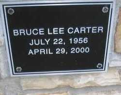 CARTER, BRUCE LEE - Scott County, Arkansas | BRUCE LEE CARTER - Arkansas Gravestone Photos