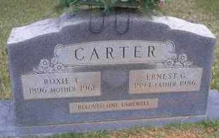 CARTER, ROXIE T - Scott County, Arkansas   ROXIE T CARTER - Arkansas Gravestone Photos