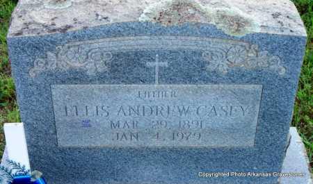 CASEY, ELLIS ANDREW - Scott County, Arkansas | ELLIS ANDREW CASEY - Arkansas Gravestone Photos