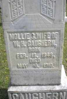 CAUGHERN, MOLLIE C - Scott County, Arkansas | MOLLIE C CAUGHERN - Arkansas Gravestone Photos