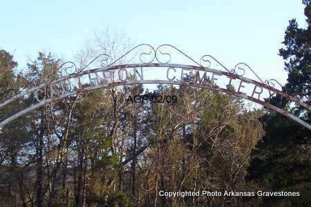 *CAUTHRON, *GATE - Scott County, Arkansas | *GATE *CAUTHRON - Arkansas Gravestone Photos