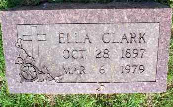 CLARK, ELLA - Scott County, Arkansas | ELLA CLARK - Arkansas Gravestone Photos