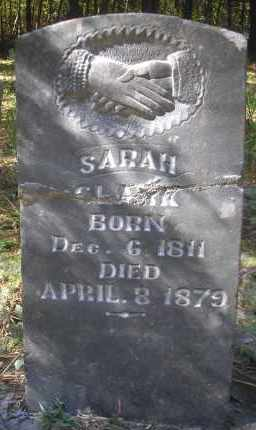 CLARK, SARAH - Scott County, Arkansas | SARAH CLARK - Arkansas Gravestone Photos