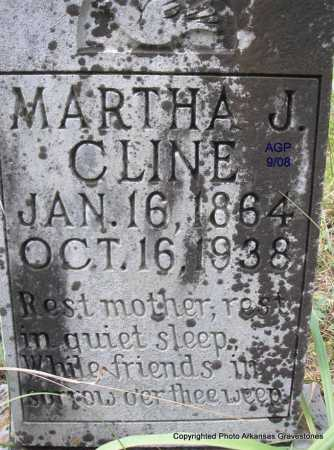 CLINE, MARTHA J - Scott County, Arkansas | MARTHA J CLINE - Arkansas Gravestone Photos