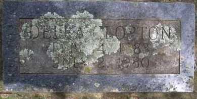 CLOPTON, DELLA - Scott County, Arkansas   DELLA CLOPTON - Arkansas Gravestone Photos