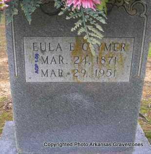 CLYMER, EULA E - Scott County, Arkansas | EULA E CLYMER - Arkansas Gravestone Photos