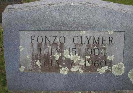 CLYMER, FONZO  (2ND STONE) - Scott County, Arkansas | FONZO  (2ND STONE) CLYMER - Arkansas Gravestone Photos
