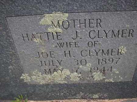 CLYMER, HATTIE J - Scott County, Arkansas | HATTIE J CLYMER - Arkansas Gravestone Photos