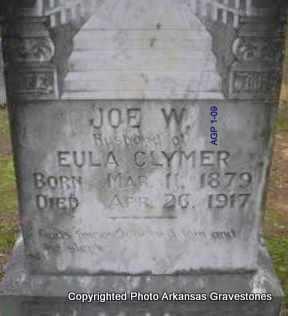 CLYMER, JOE W - Scott County, Arkansas | JOE W CLYMER - Arkansas Gravestone Photos