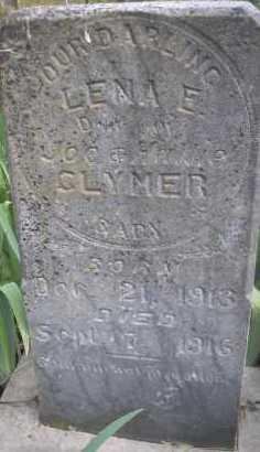 CLYMER, LENA E - Scott County, Arkansas   LENA E CLYMER - Arkansas Gravestone Photos