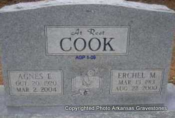 COOK, ERCHEL M - Scott County, Arkansas | ERCHEL M COOK - Arkansas Gravestone Photos