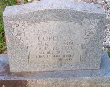 COPPOCK, LEWIS NEAL - Scott County, Arkansas | LEWIS NEAL COPPOCK - Arkansas Gravestone Photos