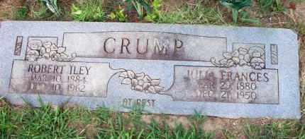 CRUMP, JULIA FRANCES - Scott County, Arkansas | JULIA FRANCES CRUMP - Arkansas Gravestone Photos