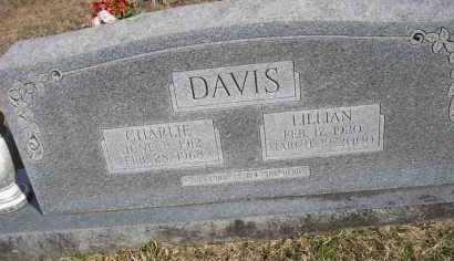 DAVIS, CHARLIE - Scott County, Arkansas   CHARLIE DAVIS - Arkansas Gravestone Photos