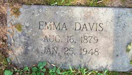 DAVIS, EMMA - Scott County, Arkansas   EMMA DAVIS - Arkansas Gravestone Photos