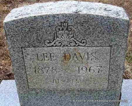 DAVIS, LEE - Scott County, Arkansas | LEE DAVIS - Arkansas Gravestone Photos