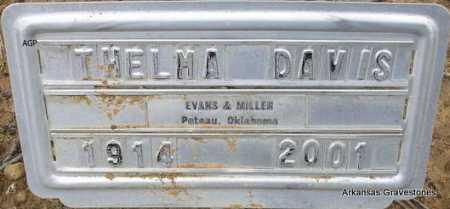DAVIS, THELMA - Scott County, Arkansas | THELMA DAVIS - Arkansas Gravestone Photos