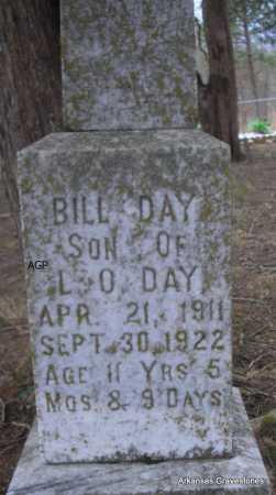 DAY, BILL - Scott County, Arkansas   BILL DAY - Arkansas Gravestone Photos