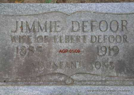 DEFOOR, JIMMIE - Scott County, Arkansas | JIMMIE DEFOOR - Arkansas Gravestone Photos