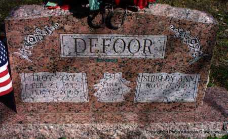 DEFOOR, TROY RAY - Scott County, Arkansas   TROY RAY DEFOOR - Arkansas Gravestone Photos