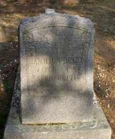DENTON, HAMILTON - Scott County, Arkansas | HAMILTON DENTON - Arkansas Gravestone Photos