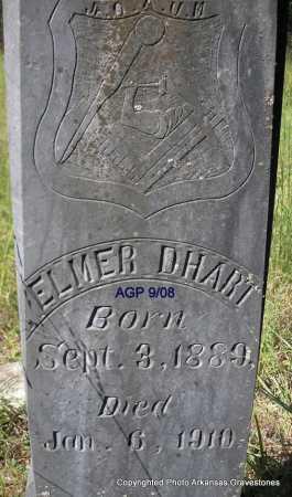 D'HART, ELMER - Scott County, Arkansas   ELMER D'HART - Arkansas Gravestone Photos