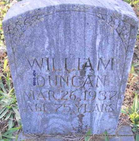 DUNCAN, WILLIAM  (2ND STONE) - Scott County, Arkansas   WILLIAM  (2ND STONE) DUNCAN - Arkansas Gravestone Photos