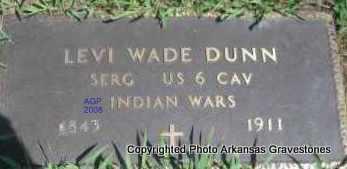 DUNN  (VETERAN IW), LEVI - Scott County, Arkansas   LEVI DUNN  (VETERAN IW) - Arkansas Gravestone Photos
