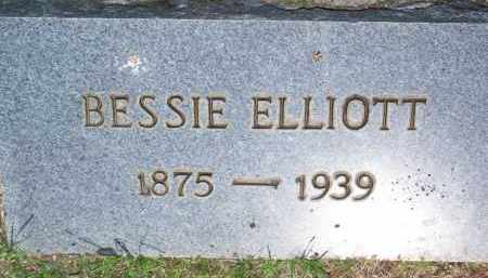 ELLIOTT, BESSIE - Scott County, Arkansas | BESSIE ELLIOTT - Arkansas Gravestone Photos