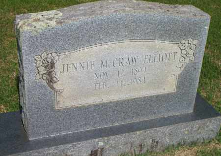 ELLIOTT, JENNIE - Scott County, Arkansas | JENNIE ELLIOTT - Arkansas Gravestone Photos
