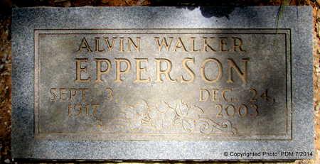 EPPERSON, ALVIN WALKER - Scott County, Arkansas | ALVIN WALKER EPPERSON - Arkansas Gravestone Photos