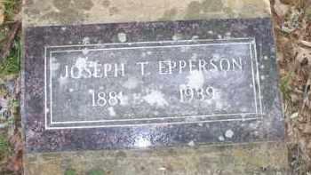 EPPERSON, JOSEPH T - Scott County, Arkansas   JOSEPH T EPPERSON - Arkansas Gravestone Photos