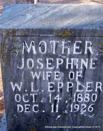 EPPLER, JOSEPHINE - Scott County, Arkansas | JOSEPHINE EPPLER - Arkansas Gravestone Photos