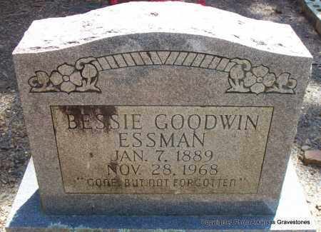 GOODWIN ESSMAN, BESSIE - Scott County, Arkansas   BESSIE GOODWIN ESSMAN - Arkansas Gravestone Photos