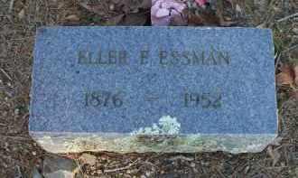 ESSMAN, ELLER E - Scott County, Arkansas | ELLER E ESSMAN - Arkansas Gravestone Photos