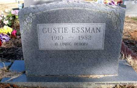 ESSMAN, GUSTIE VIOLA - Scott County, Arkansas   GUSTIE VIOLA ESSMAN - Arkansas Gravestone Photos