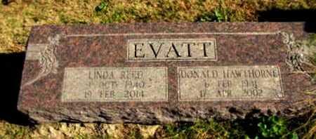 REED EVATT, LINDA - Scott County, Arkansas | LINDA REED EVATT - Arkansas Gravestone Photos